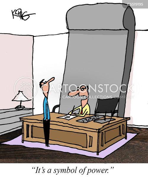 desk chair cartoon