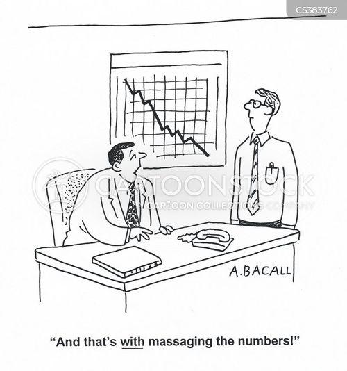 massaged cartoon