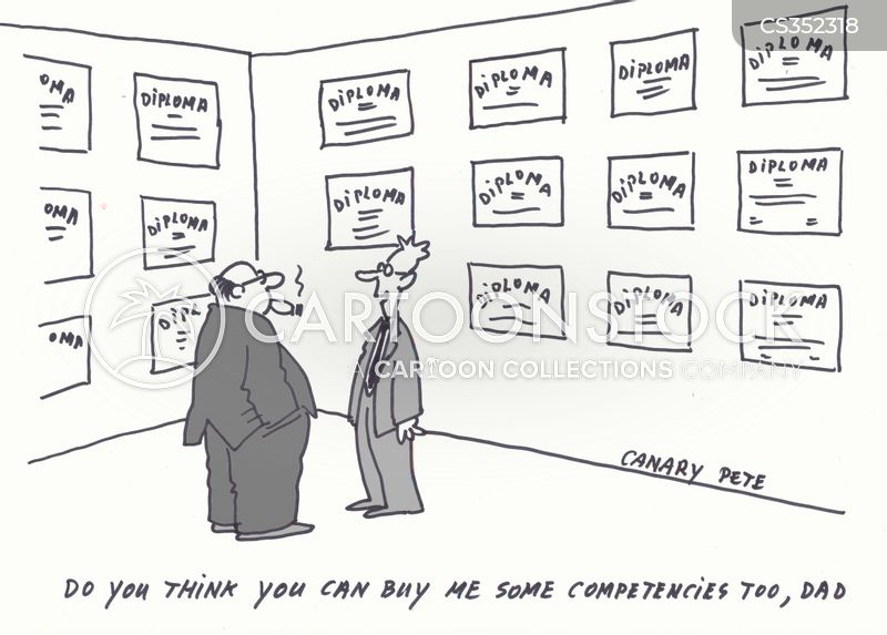 competencies cartoons and comics