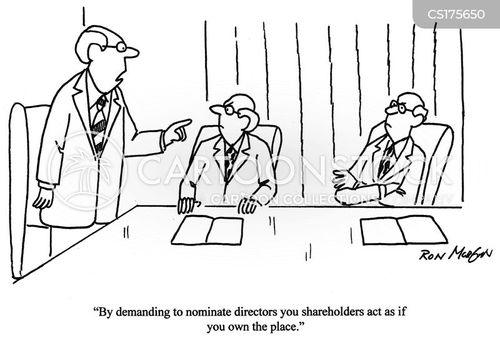 ownership cartoon
