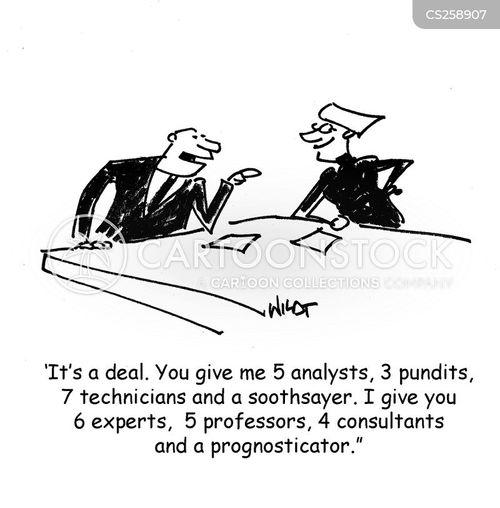 business negotiations cartoon