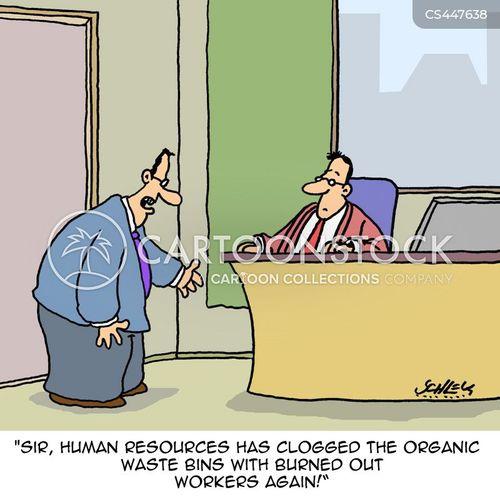 occupational burnout cartoon