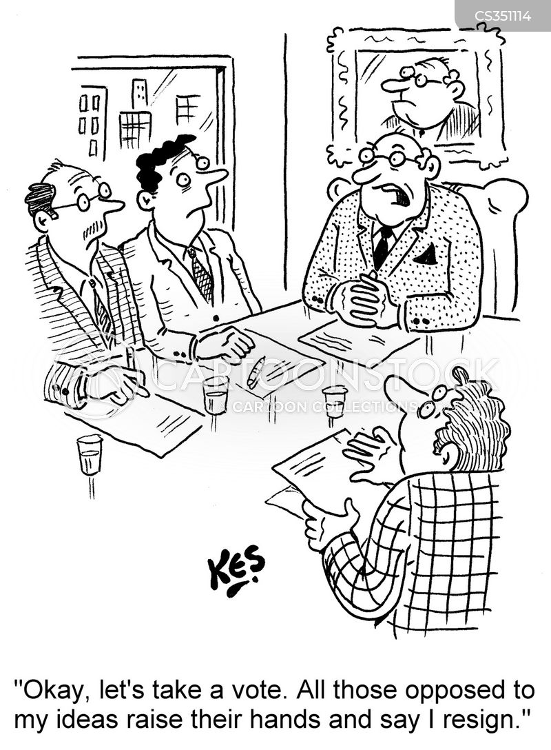 managing directors cartoon