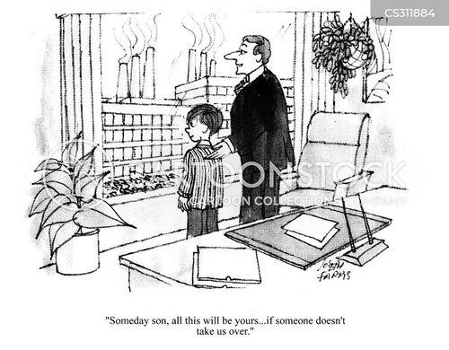 business empire cartoon