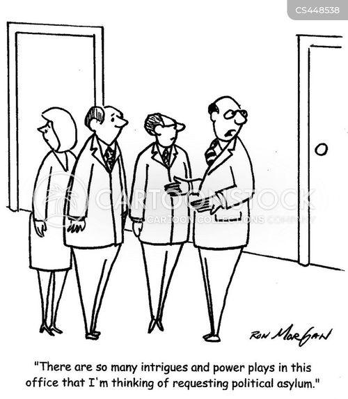 exaggerated cartoon