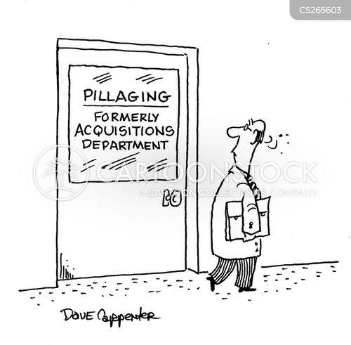 pillager cartoon
