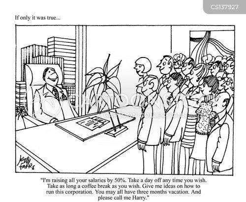 the boss cartoon
