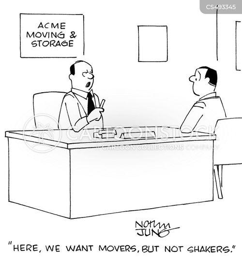 moving company cartoon