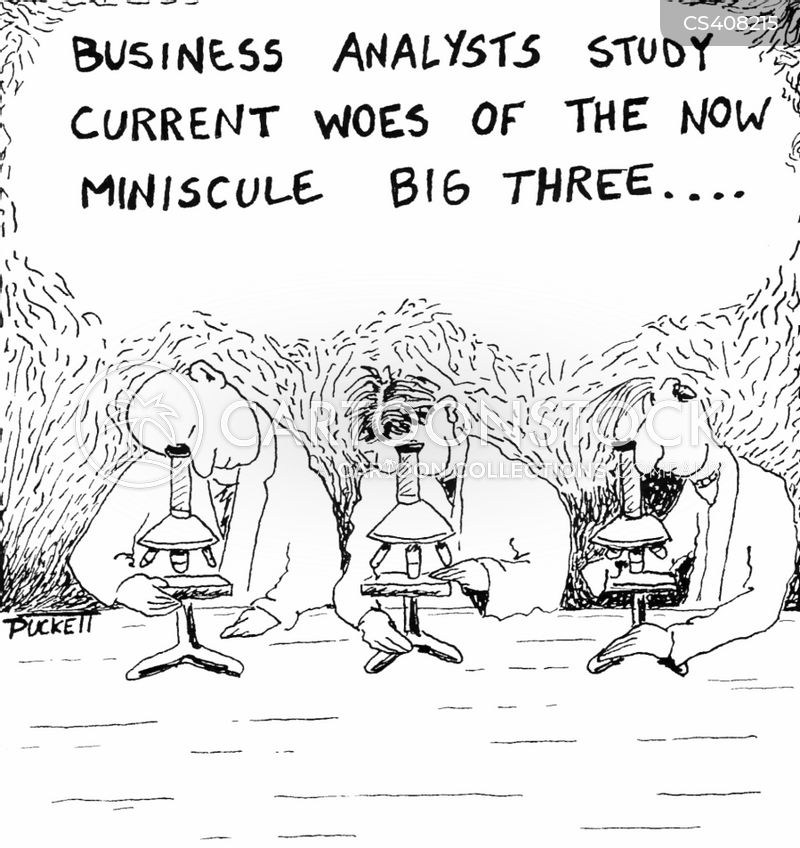 business analyst cartoon