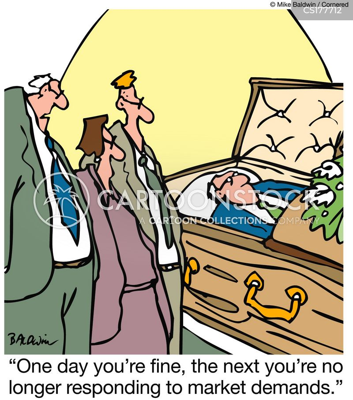 stressful lifestyle cartoon
