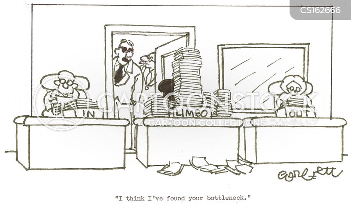 bottleneck cartoon