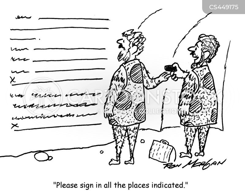 Business Contract Cartoons And Comics - Funny Pictures From