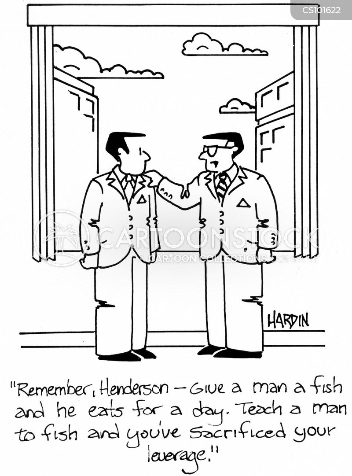 leverage cartoon