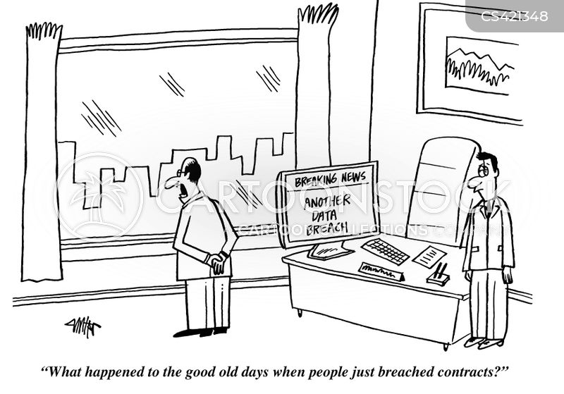 security breaches cartoon