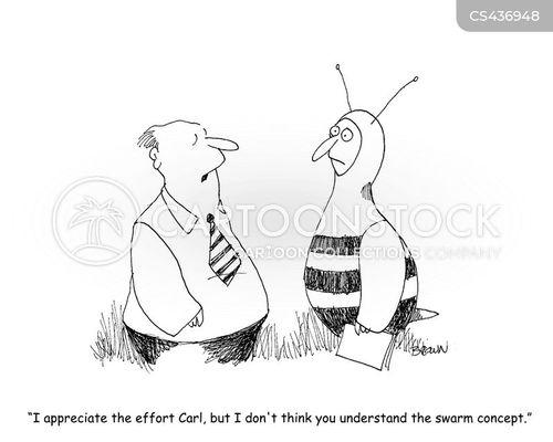 business environment cartoon