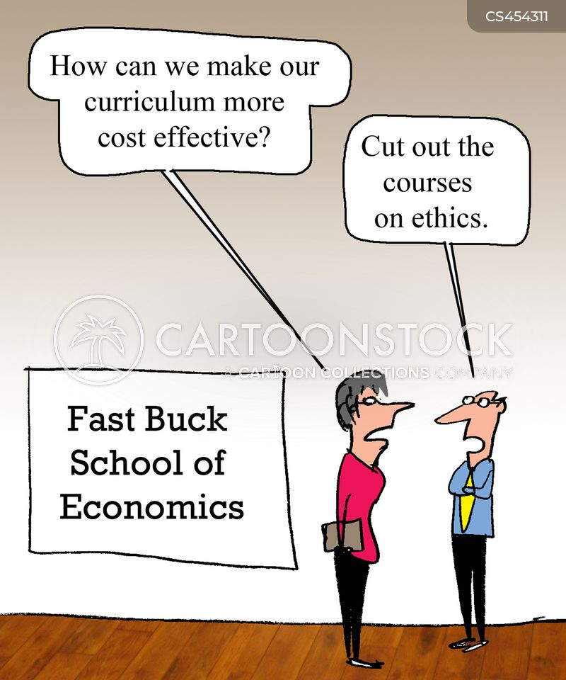 ethics course cartoon