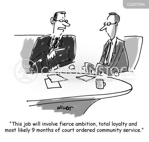 business morality cartoon