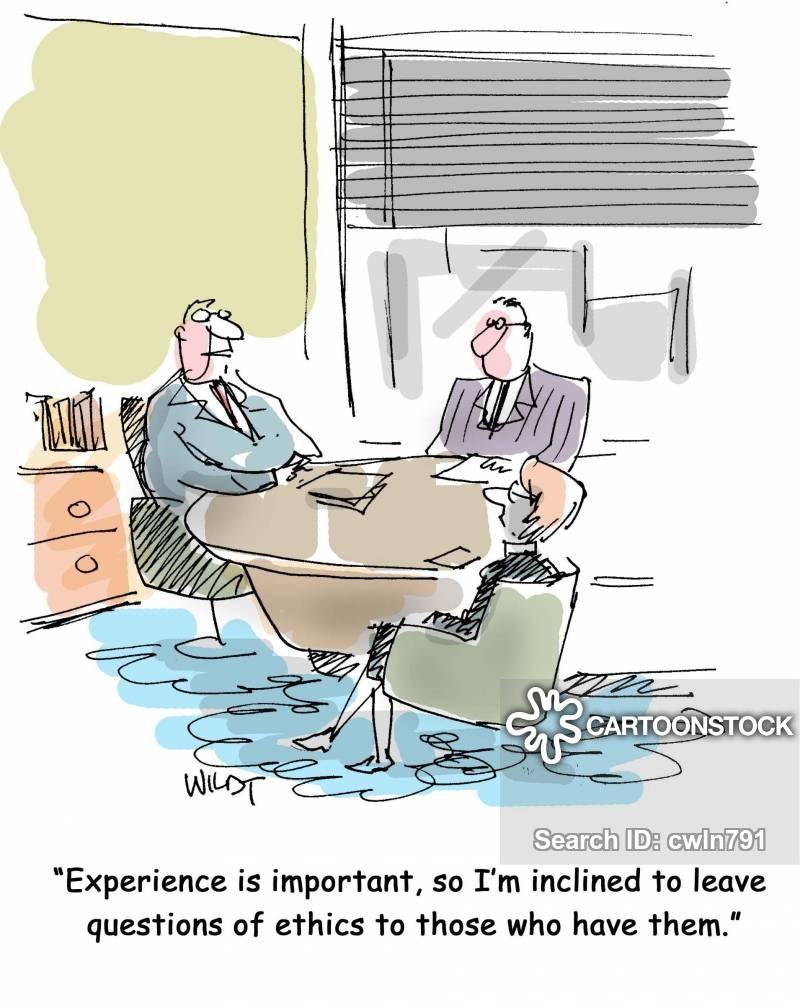 ethicals cartoon