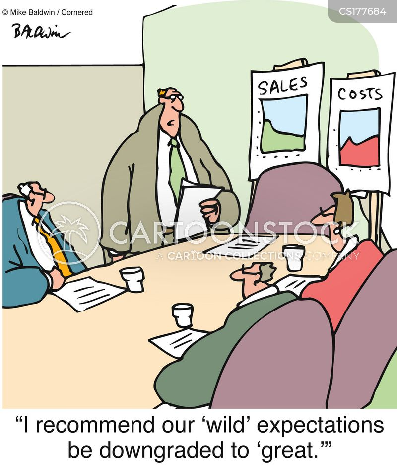 Image result for unrealistic expectations cartoon