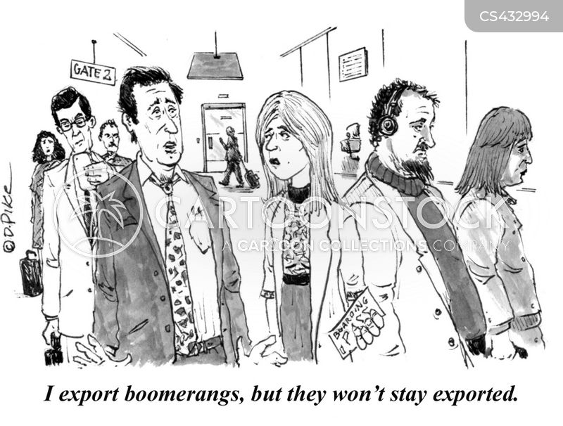 exporter cartoon