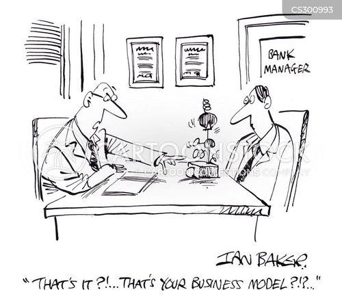 business funding cartoon