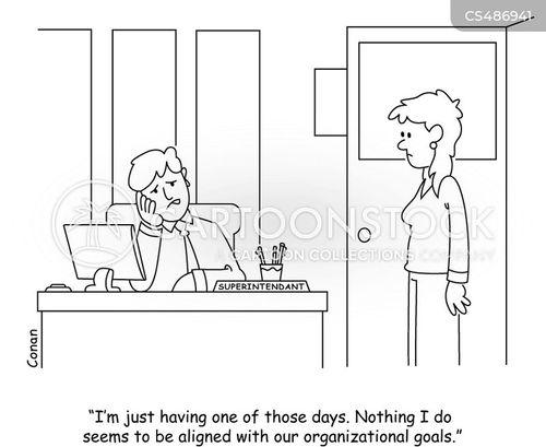 school district cartoon