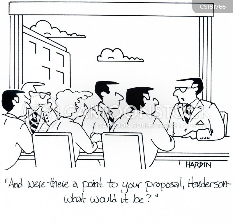 presentation skills cartoon