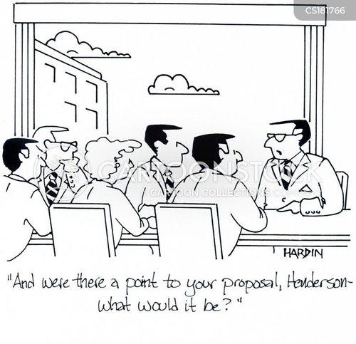 presentation skill cartoon