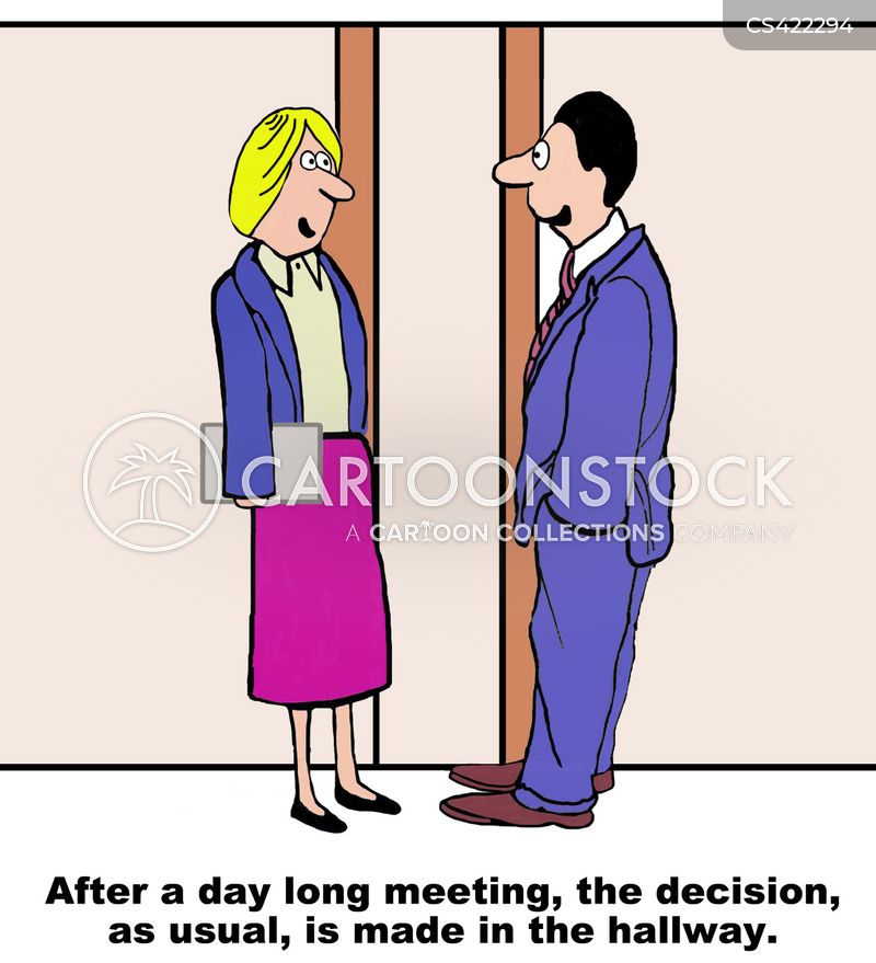 decision-making cartoon