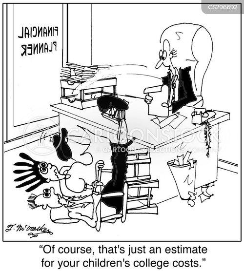 savings plans cartoon