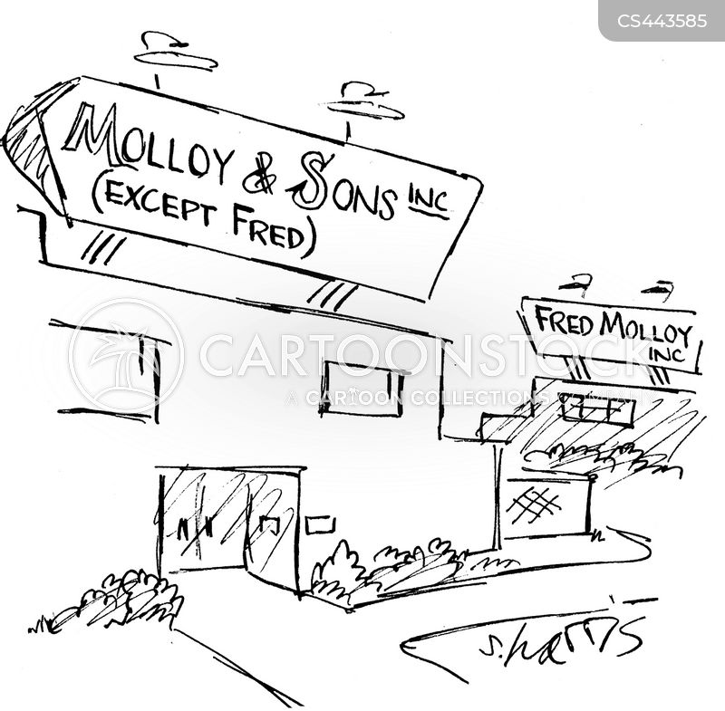 family company cartoon
