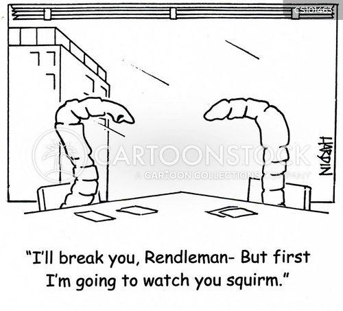 squirming cartoon