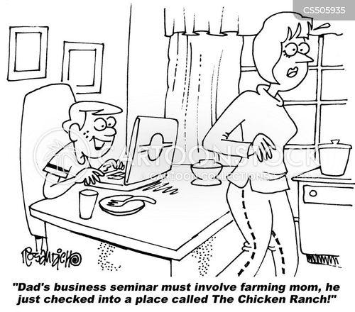 business seminars cartoon
