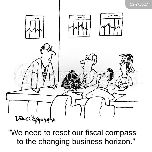 fiscal compass cartoon