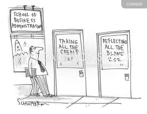 business school cartoon