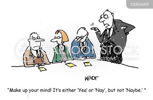 equivocation cartoon