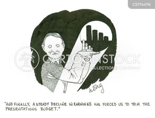 economizing cartoon