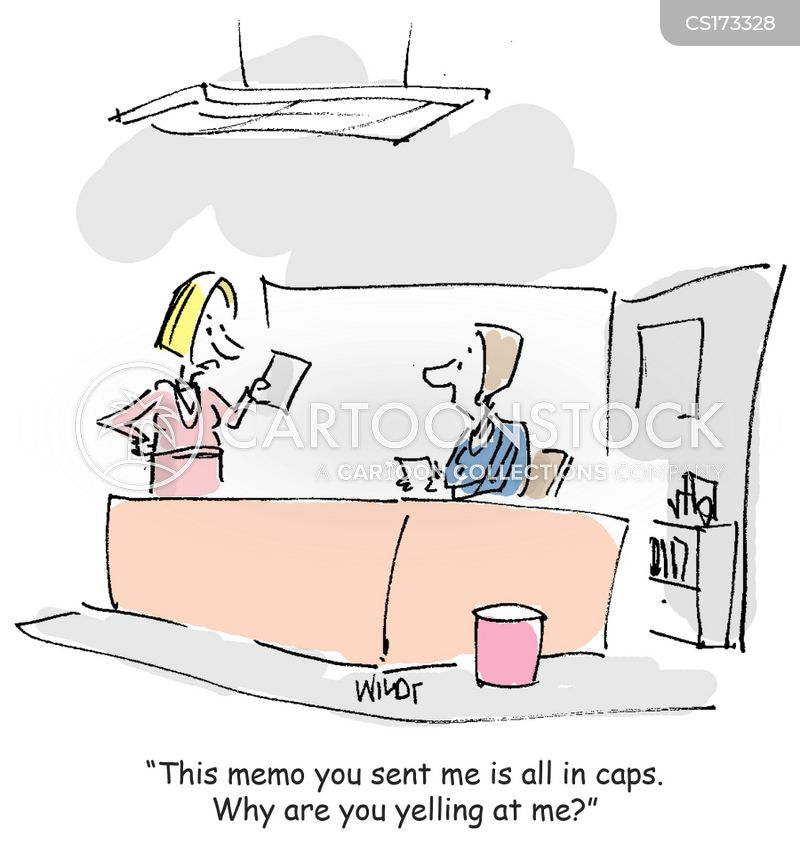 internal memo cartoon