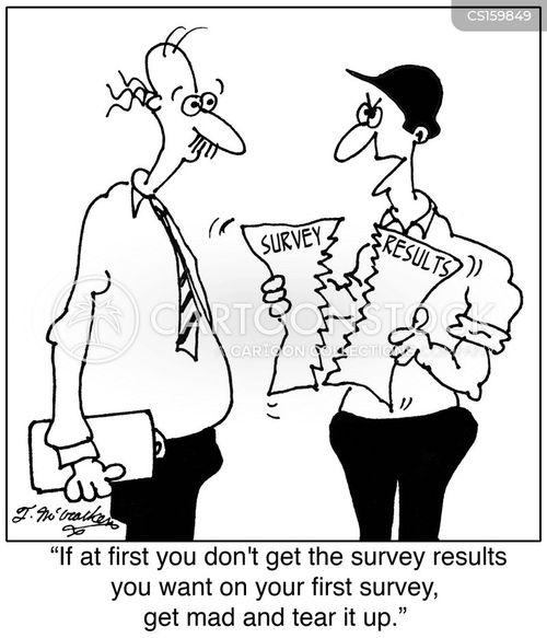 opinion poll cartoon