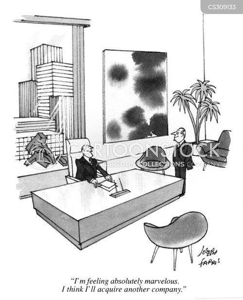 takes over cartoon