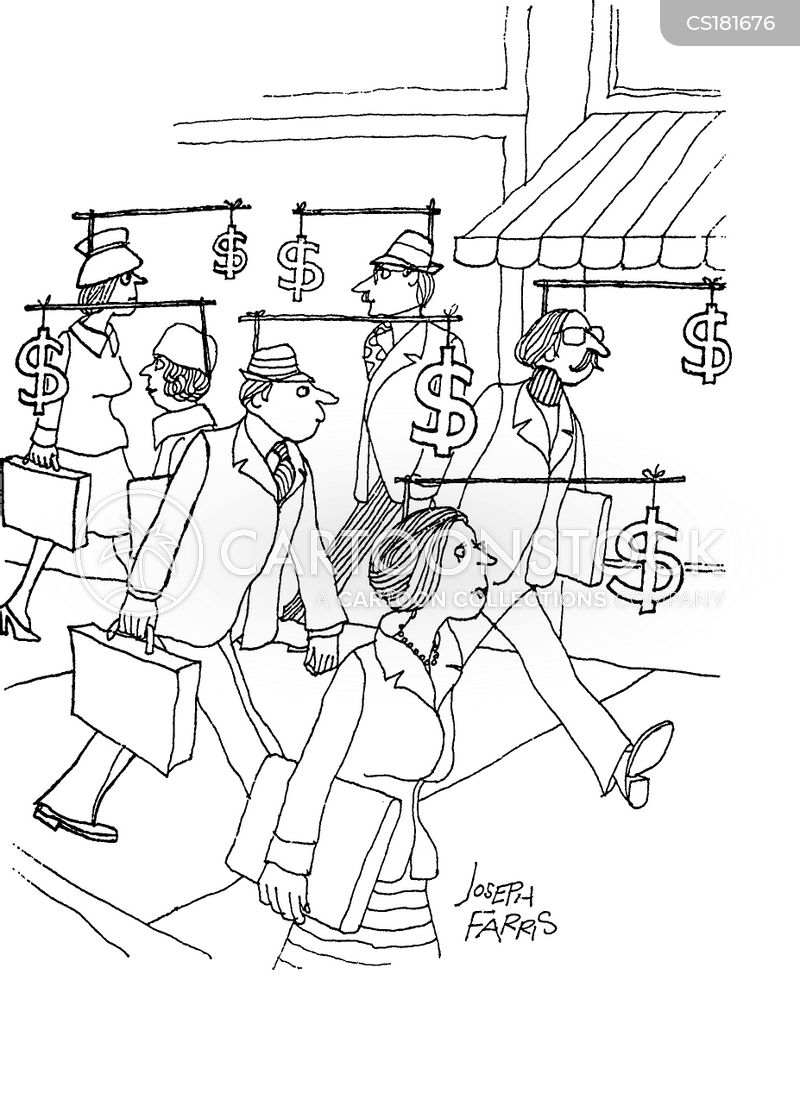 wage slave cartoon