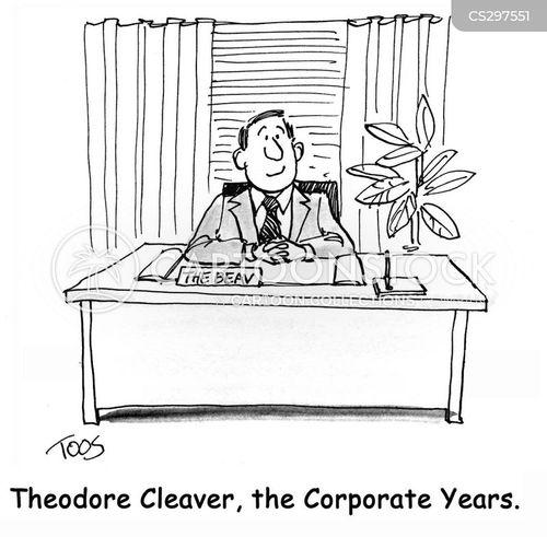 employee evaluation cartoon