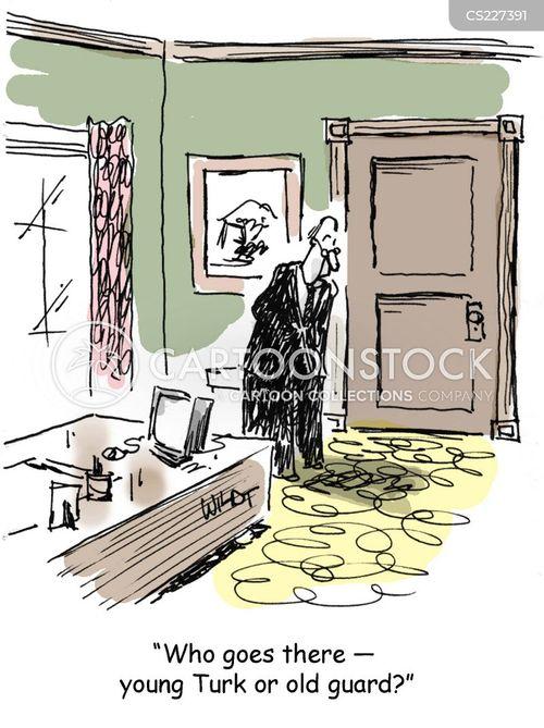 business associate cartoon
