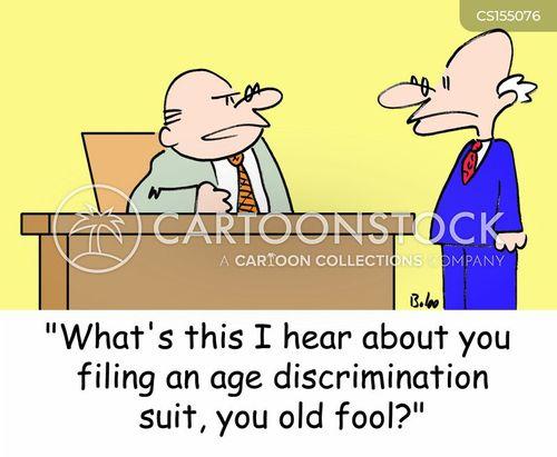 old fool cartoon