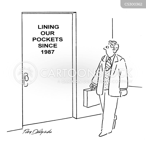 lined cartoon