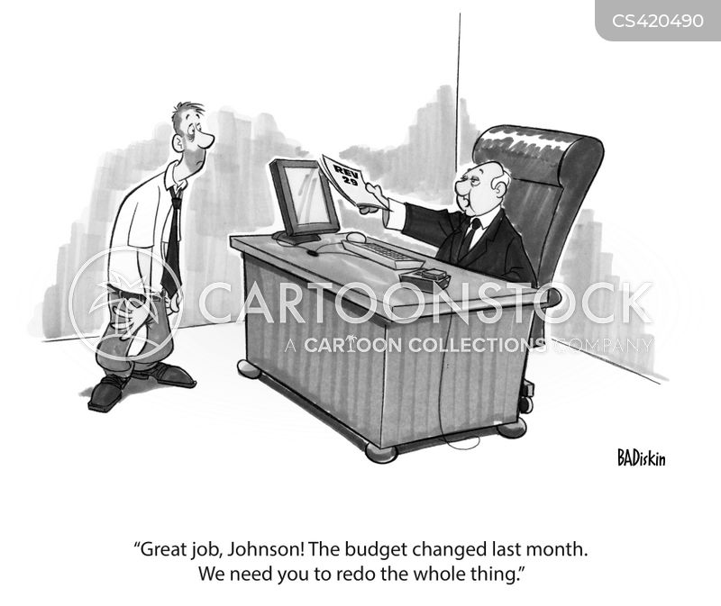 chief financial officer cartoon