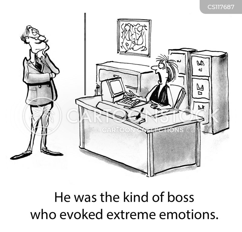 extreme reactions cartoon