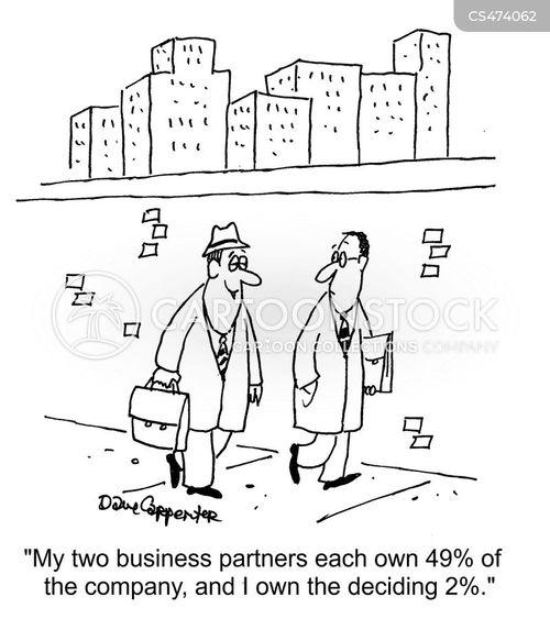 controlling interest cartoon