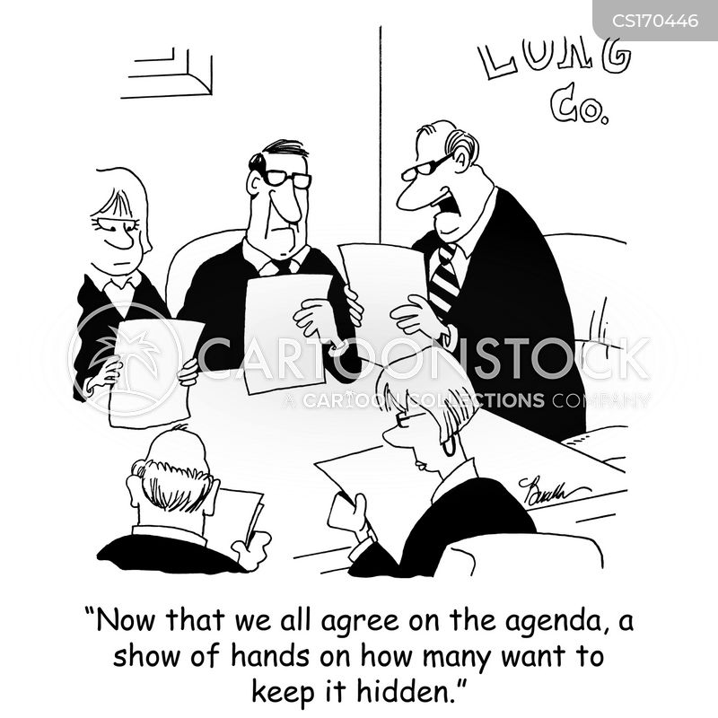 board members cartoon