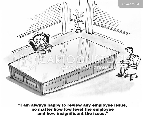 employee issues cartoon
